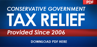 Conservative Government Tax Relief Provided Since 2006