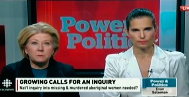 MP Lois Brown talks action for Aboriginal women on CBC's Power & Politics